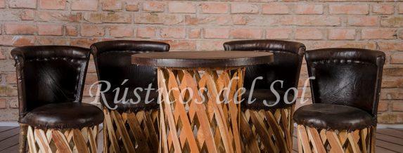 comedor-de-4-locos-con-respaldo-y-mesa-de-.60cms-color-chocolate-1